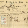 Free Vintage French Receipts