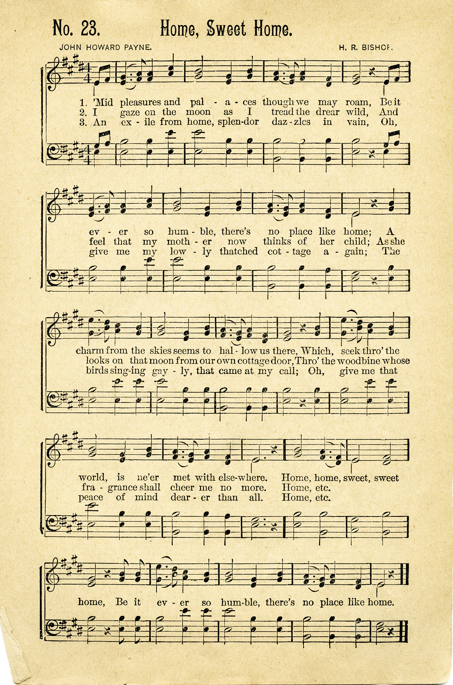 Sweet image with regard to vintage sheet music printable