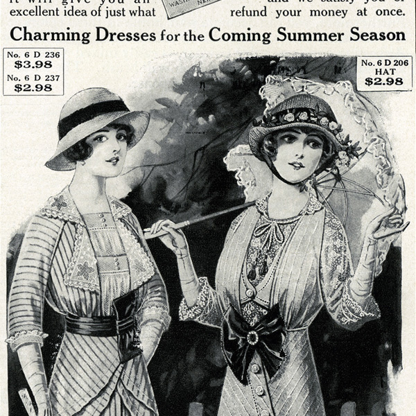 1914 fashion, easter fashion, free digital fashion image, free vintage image, Victorian fashion, Victorian lady, vintage fashion, vintage magazine fashion