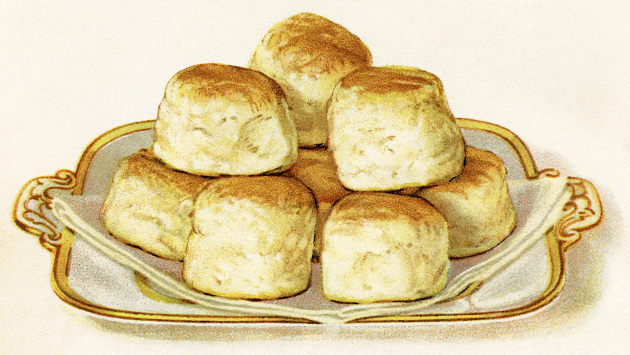 These delicious looking baking powder biscuits are from the 1922 ...