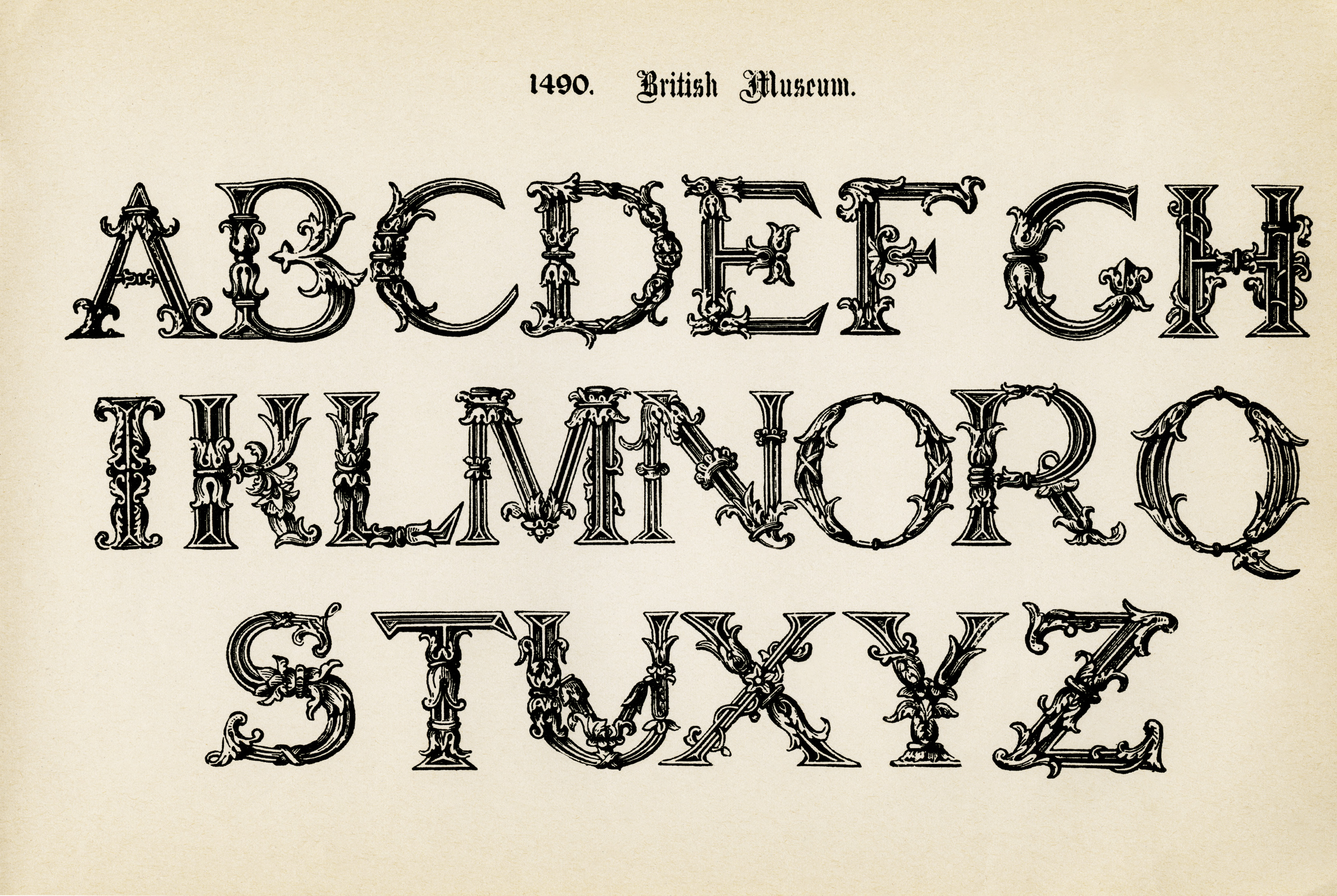 Dynamite image throughout printable fancy lettering