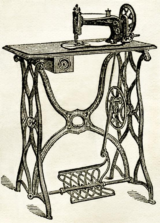 Black Dude Hookup White Sewing Machine