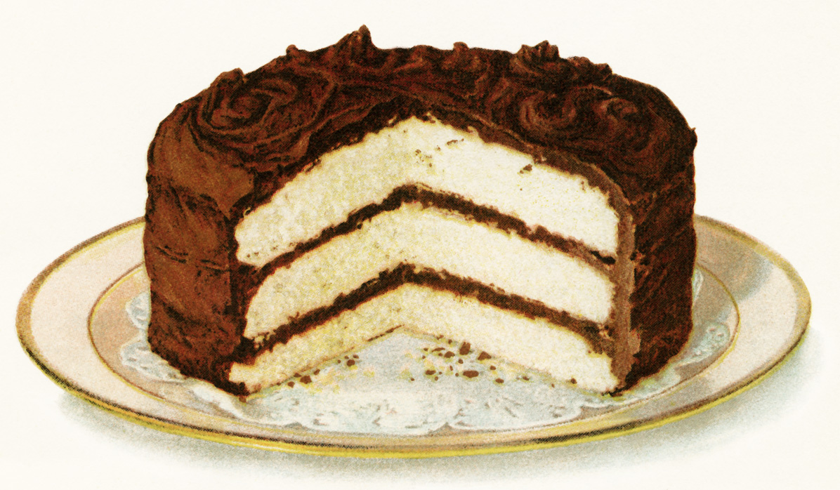 Layer Cake Artist : Chocolate Iced Layer Cake Old Design Shop Blog
