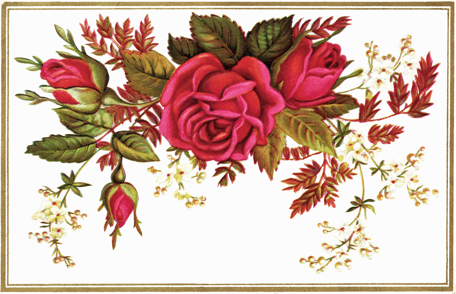 Flores vintage on Pinterest Decoupage Manualidades and