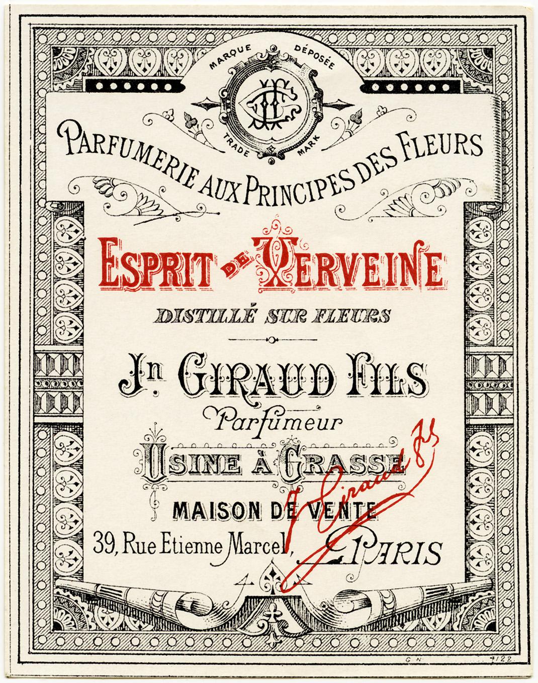 ETIQUETTES PARFUM on Pinterest : Vintage Stuff, Perfume ...