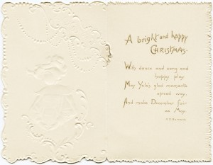 free vintage christmas image, raphael tuck christmas, antique xmas card, victorian tuck graphic, happy christmas message