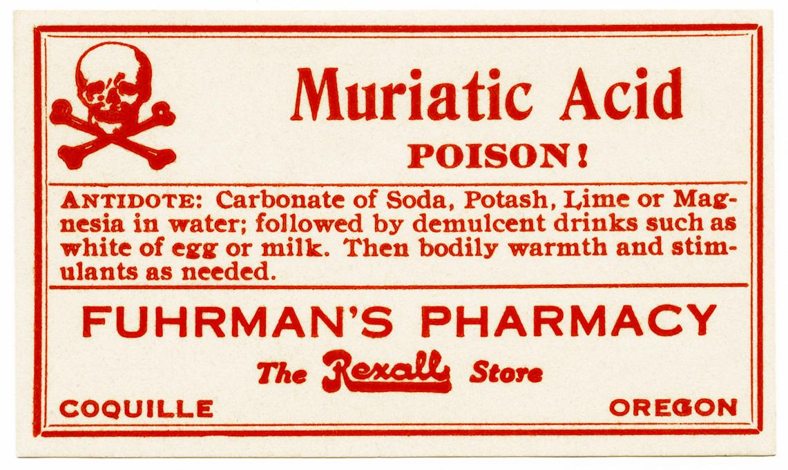 Free vintage image poison label old design shop blog for Acid house labels