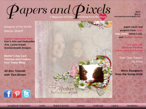 papers and pixels, digital magazine