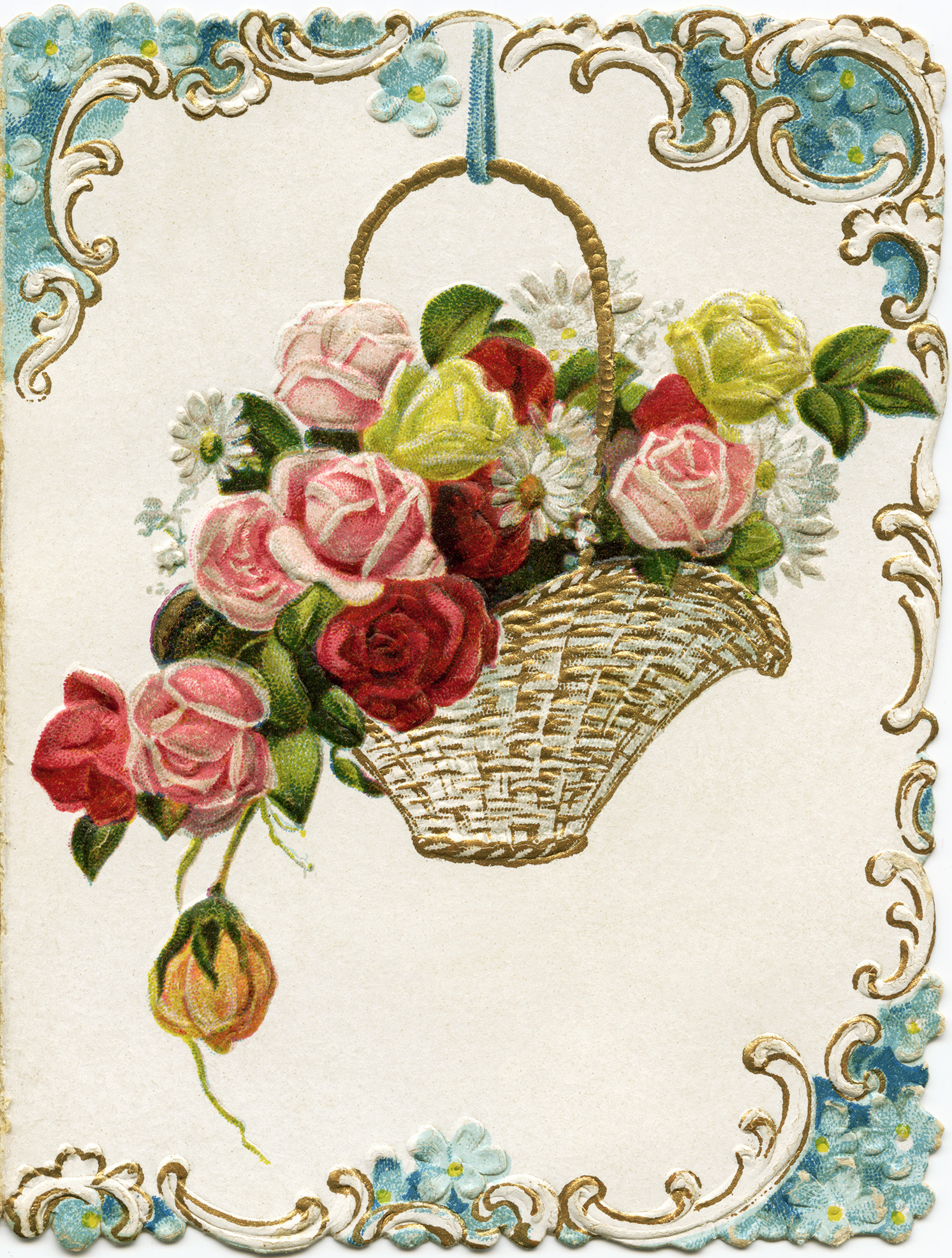 free victorian birthday clip art - photo #42