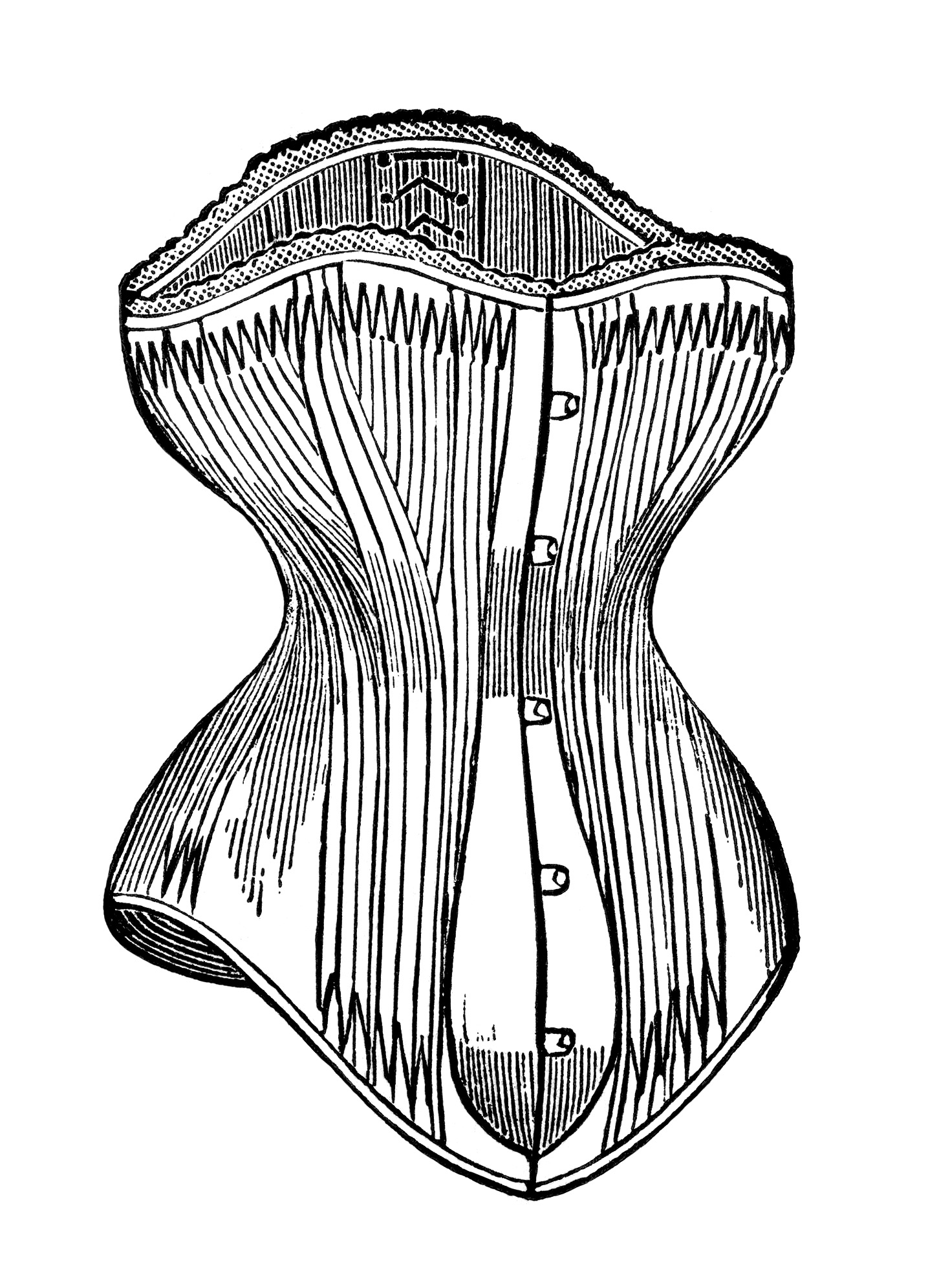 Free Victorian Corsets Clip Art Old Design Shop Blog