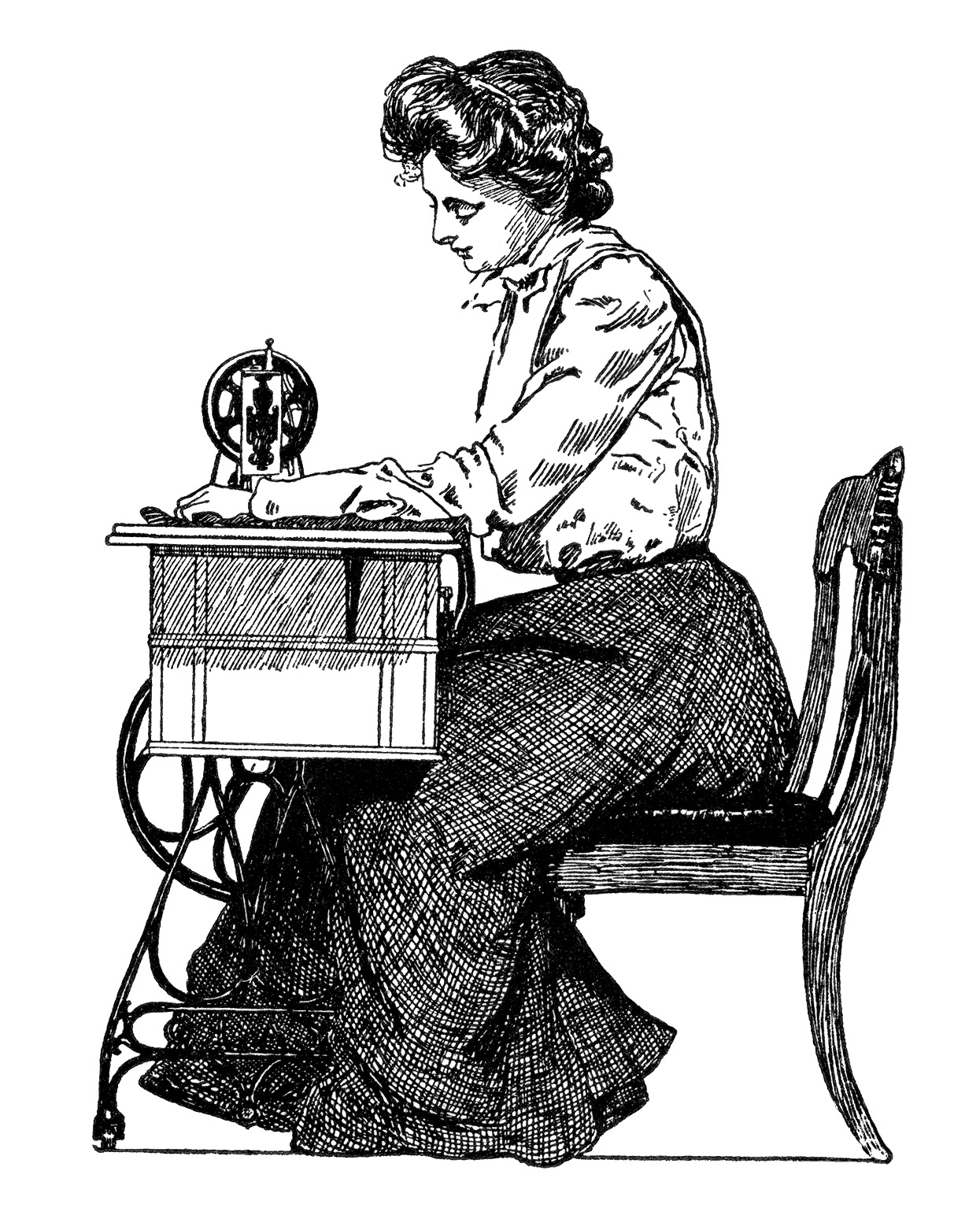 Vintage Sewing Clipart 23