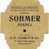 Victorian Advertising Card Sohmer Piano ~ Free Graphics