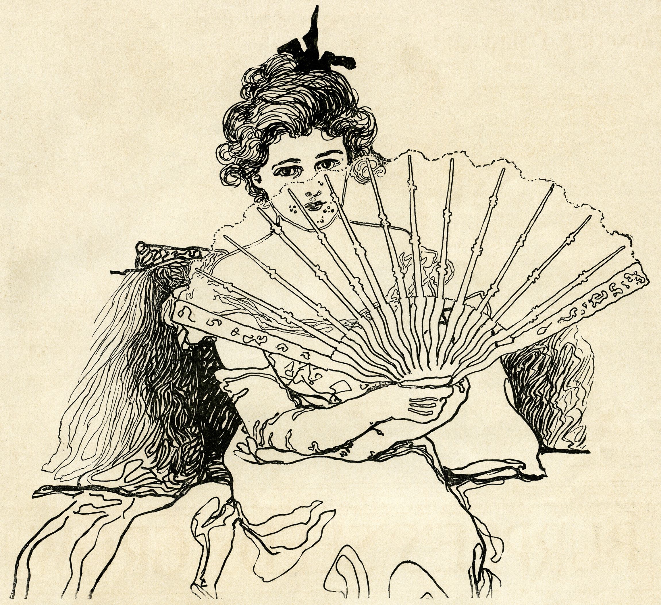 free black and white victorian clip art - photo #18
