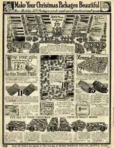 sears roebuck catalog, vintage Christmas clip art, vintage advertising graphic, Christmas printable, old catalogue page