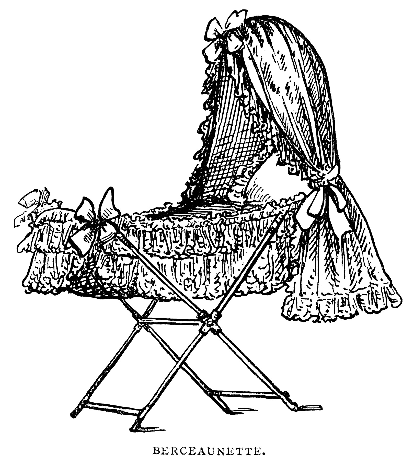 Victorian Baby Bassinet | Old Design Shop Blog