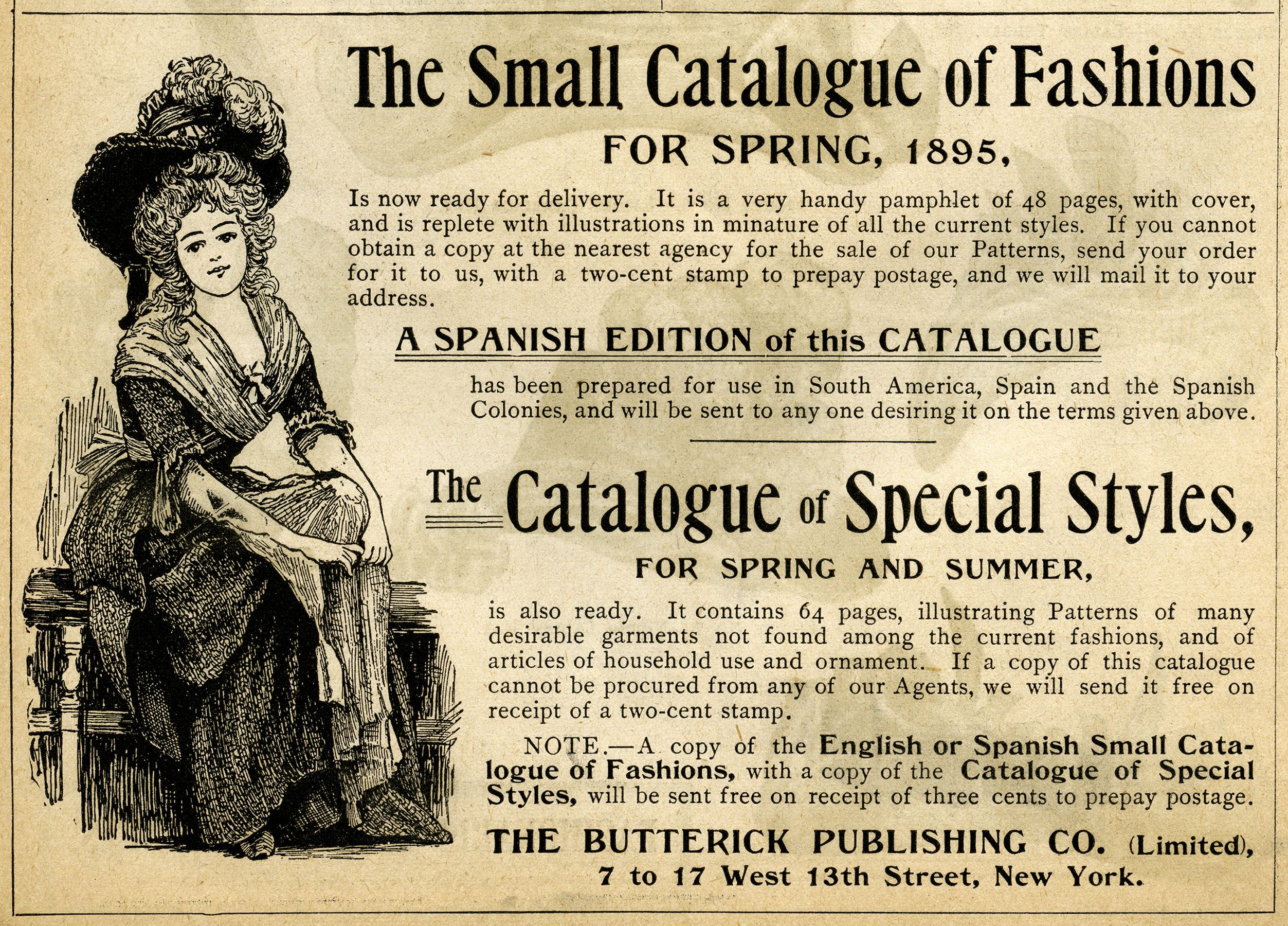 catalogue of fashions ad old design shop blog. Black Bedroom Furniture Sets. Home Design Ideas