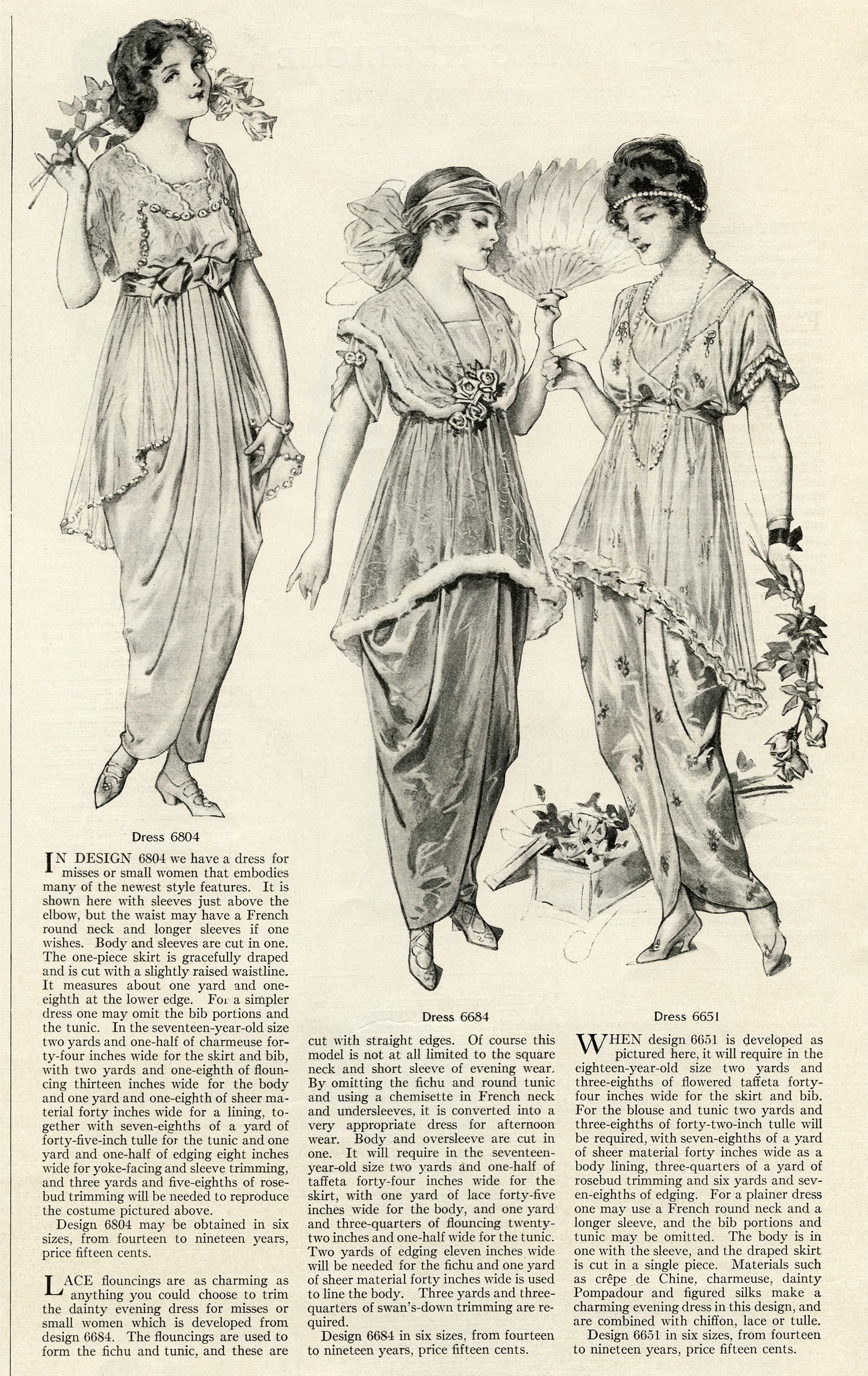 Vintage Fashion Clip Art 59