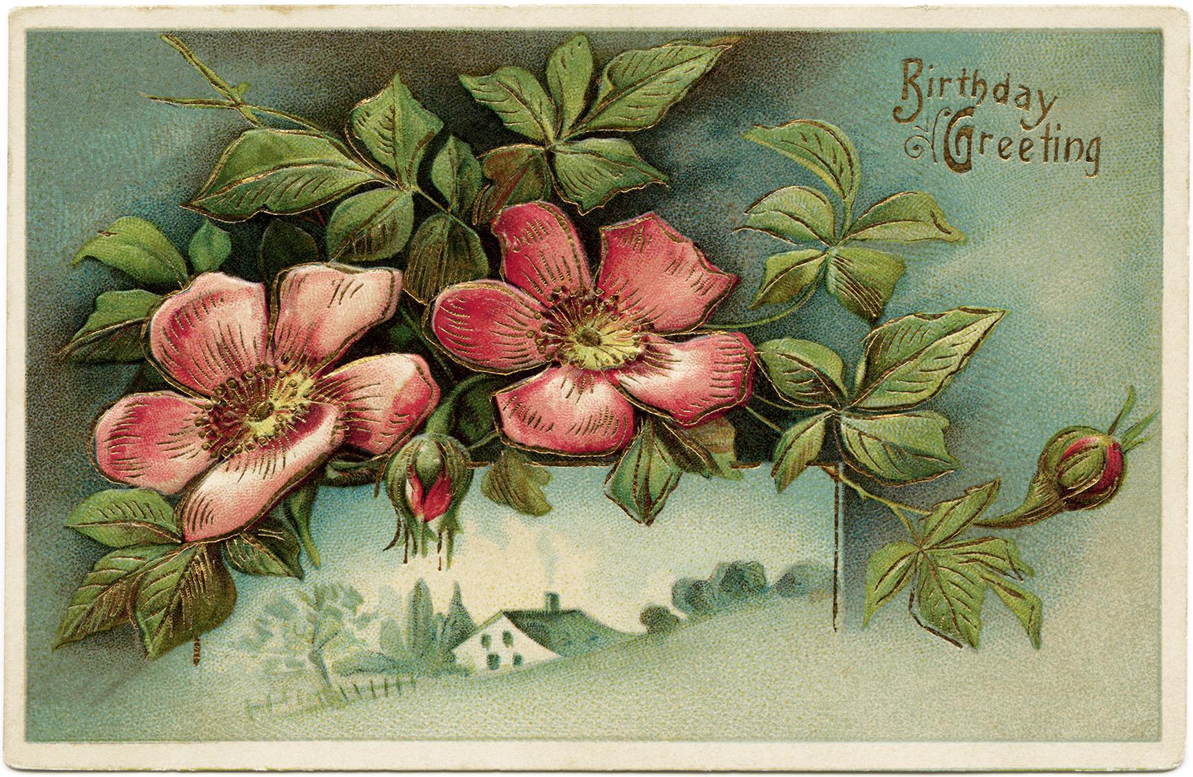 free victorian birthday clip art - photo #7