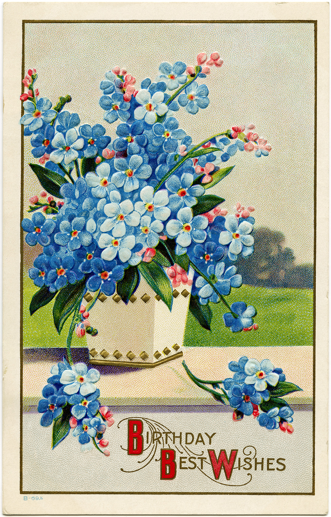 free victorian birthday clip art - photo #6
