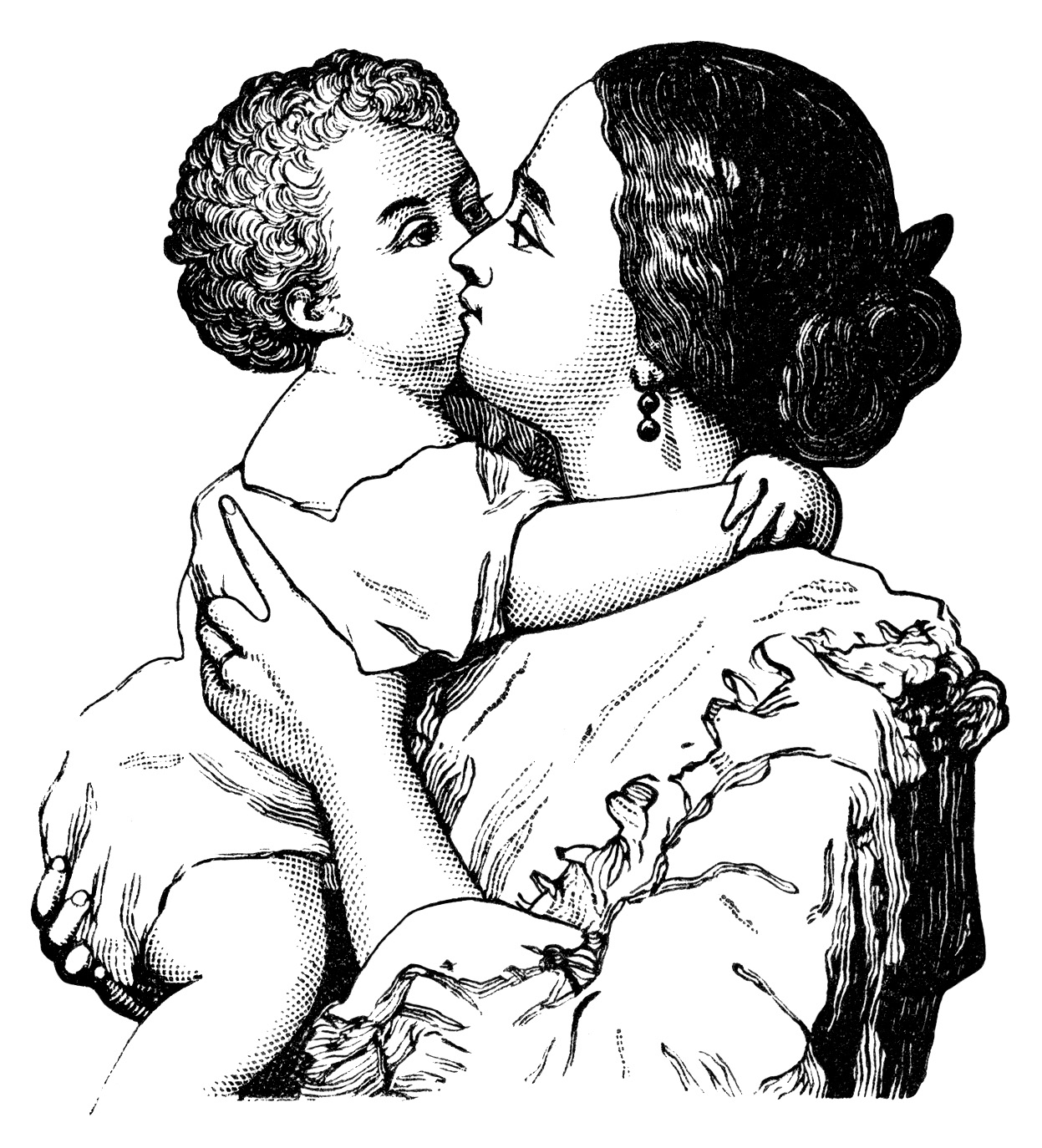 free clip art mother child - photo #7