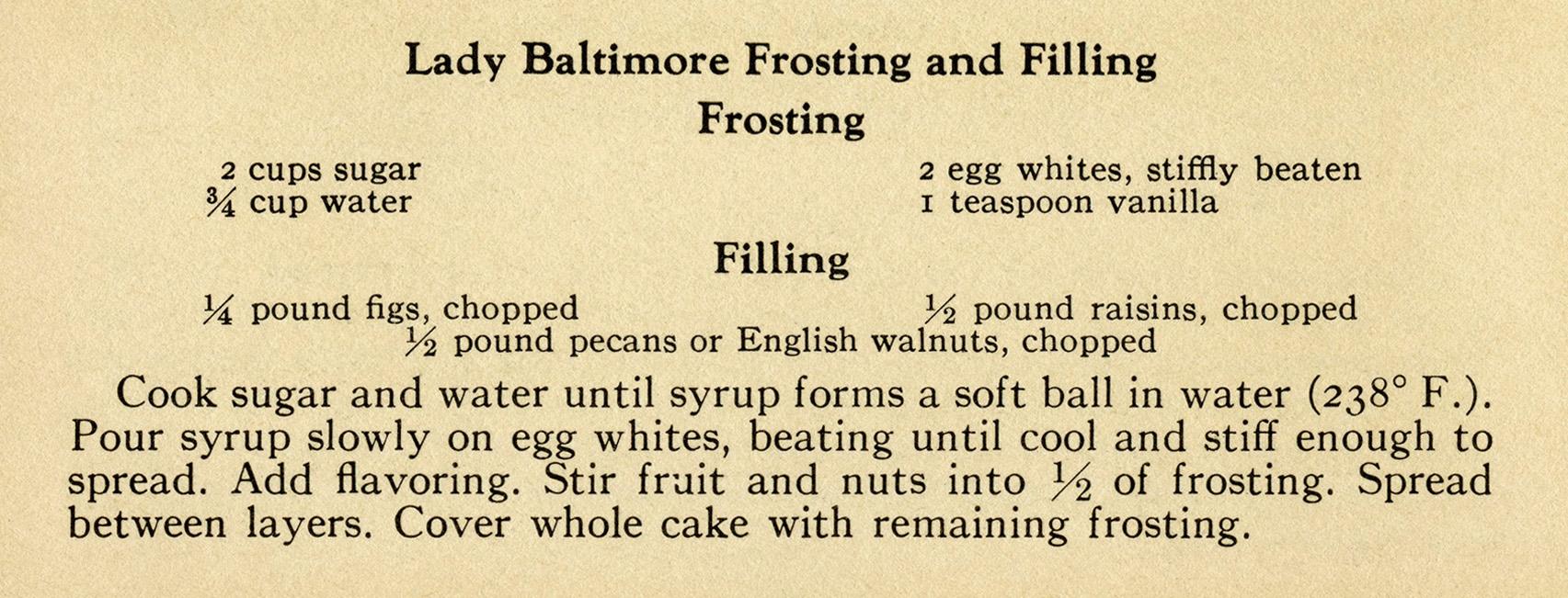 Frosting and Filling Recipes | Old Design Shop Blog