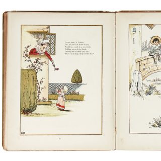 Kate Greenaway book pages