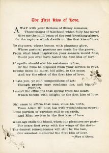 free vintage love poem