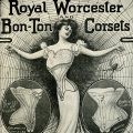 victorian corset free advertisement clip art