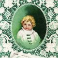 Free vintage clip art St Patricks Day Ellen Clapsaddle Baby Irish