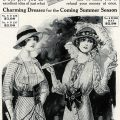 Free vintage image Victorian fashion advertisement