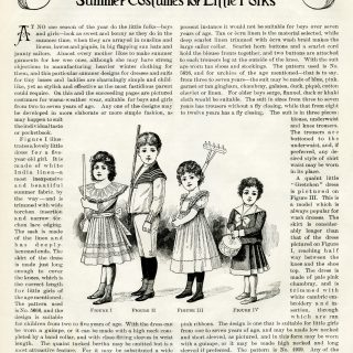 Victorian children clip art, vintage fashion, illustrated children, fashion 1900, vintage children's fashion