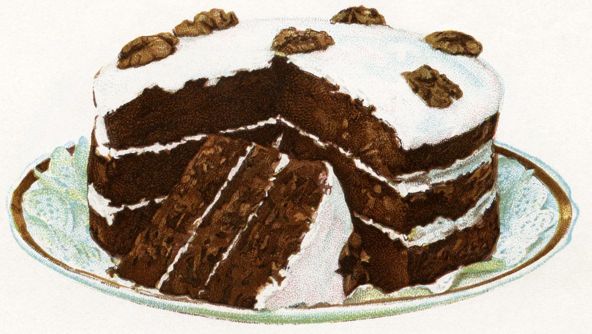 Houseand Garden Chocolate Fruit Christmas Cake