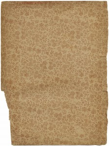 Vintage book endpaper, grunge floral image, shabby book page, vintage storybook endpaper, grungy flower paper, aged book page, free vintage graphic