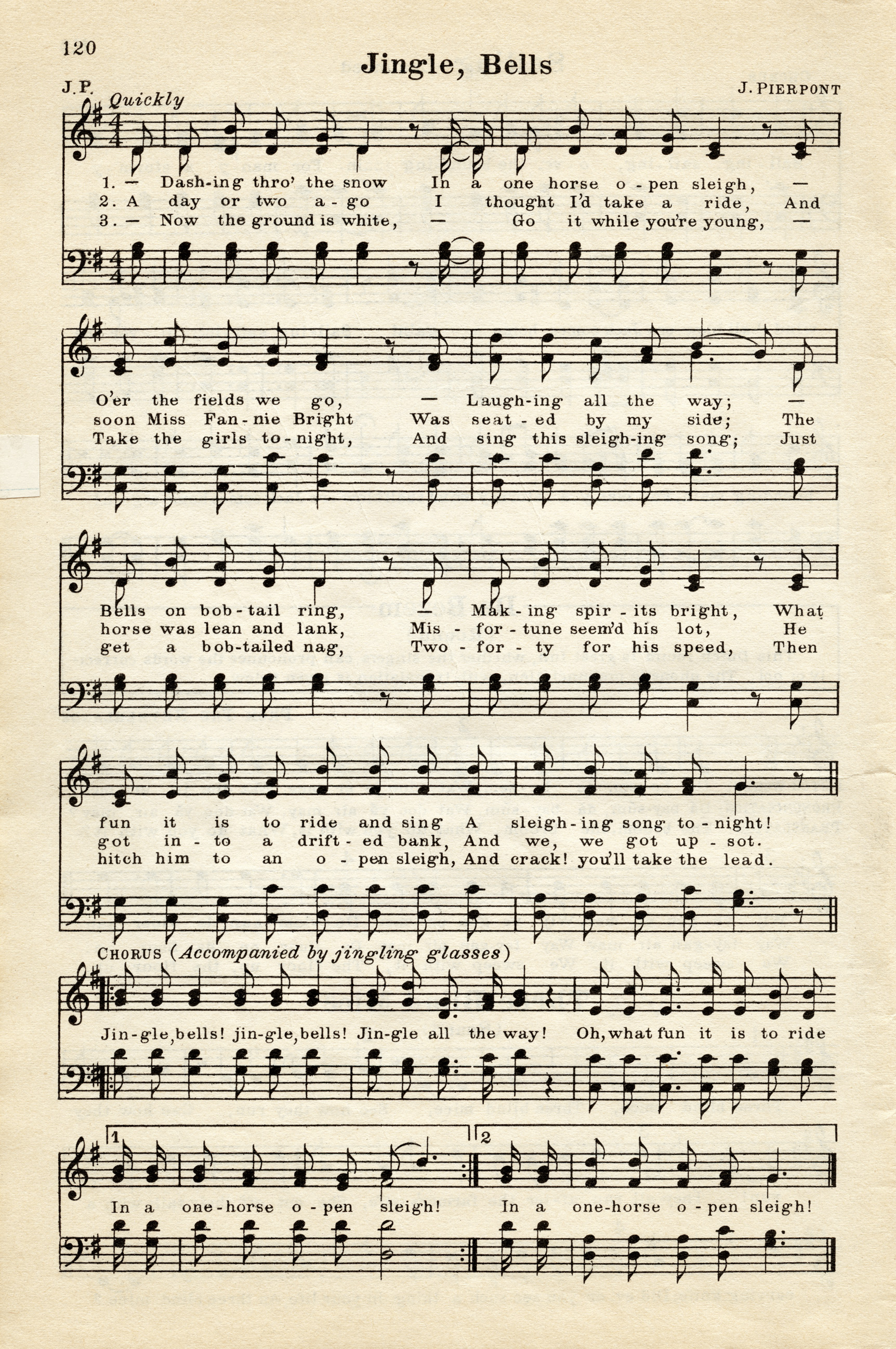 graphic relating to Free Printable Vintage Christmas Sheet Music named Songs Archives - Webpage 3 of 4 - Previous Structure Retailer Website