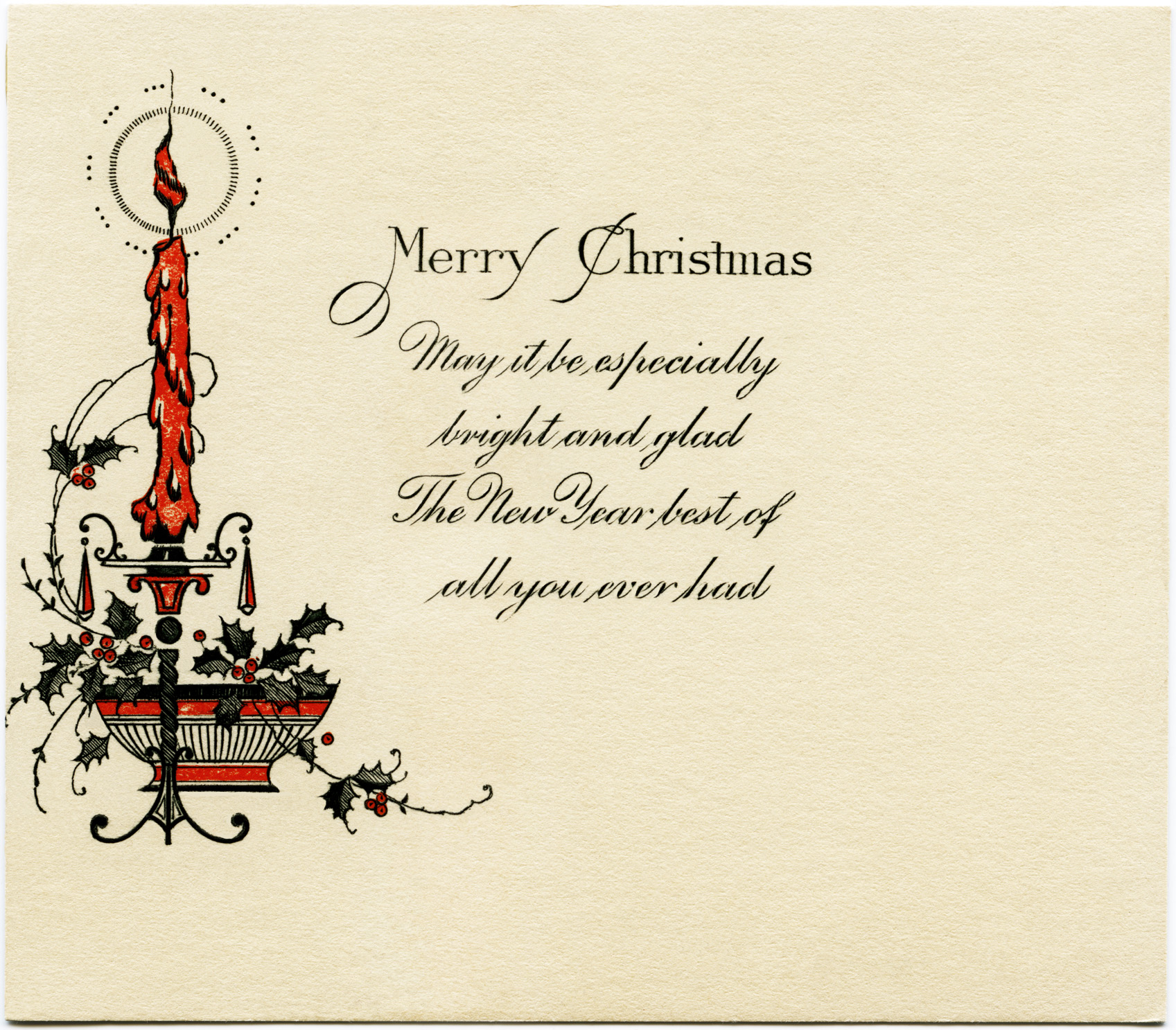 Free Vintage Image Antique Christmas Card Old Design Shop Blog