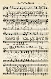 Free Vintage Image Christmas Hymns Old Design Shop Blog