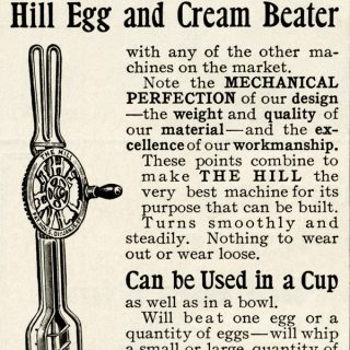 Free vintage clip art egg beater mixer magazine ad