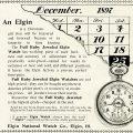 Free vintage clip art Elgin watch magazine advertisement
