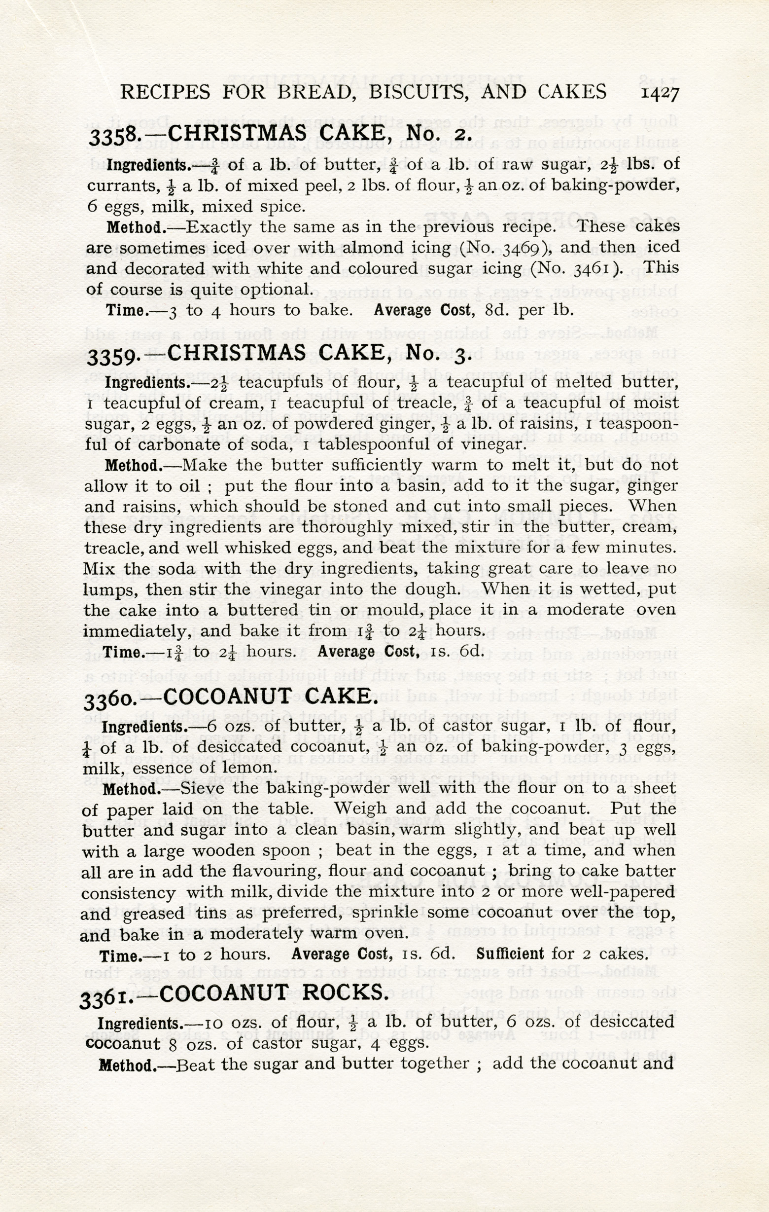 Vintage Christmas Cake Recipes Old Design Shop Blog