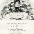 Free vintage Christmas poem pie and clock Eliza Stone