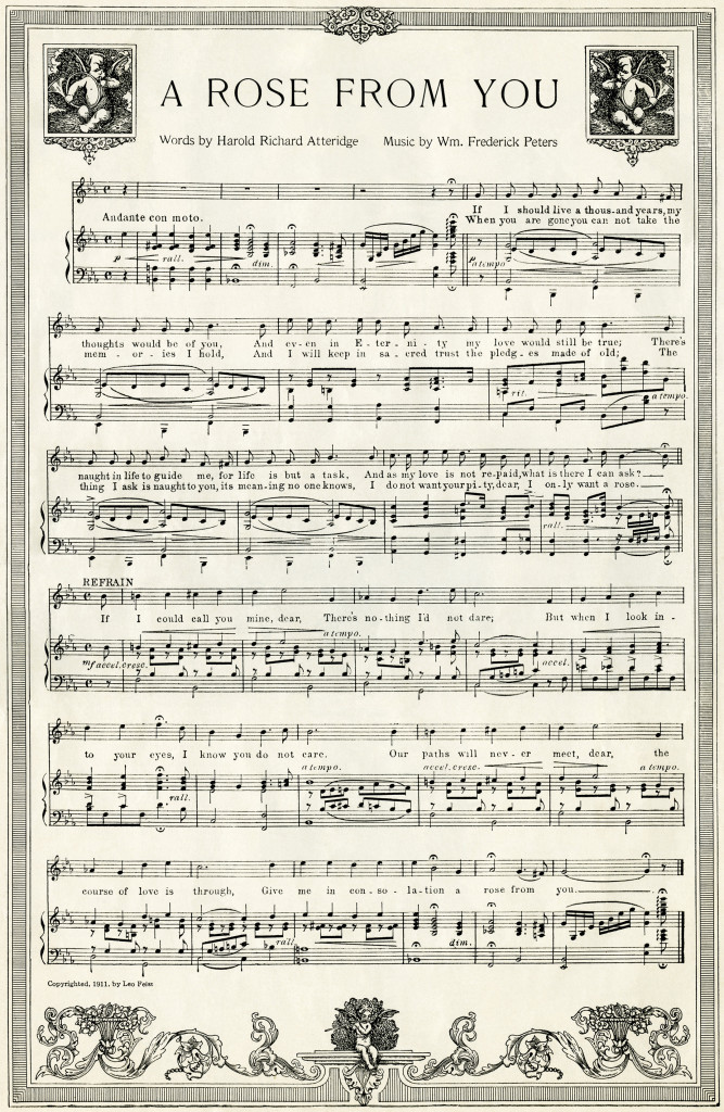 It is a picture of Refreshing Free Printable Sheet Music