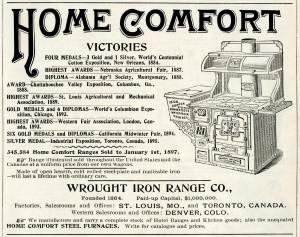 Free printable vintage stove magazine advertisement