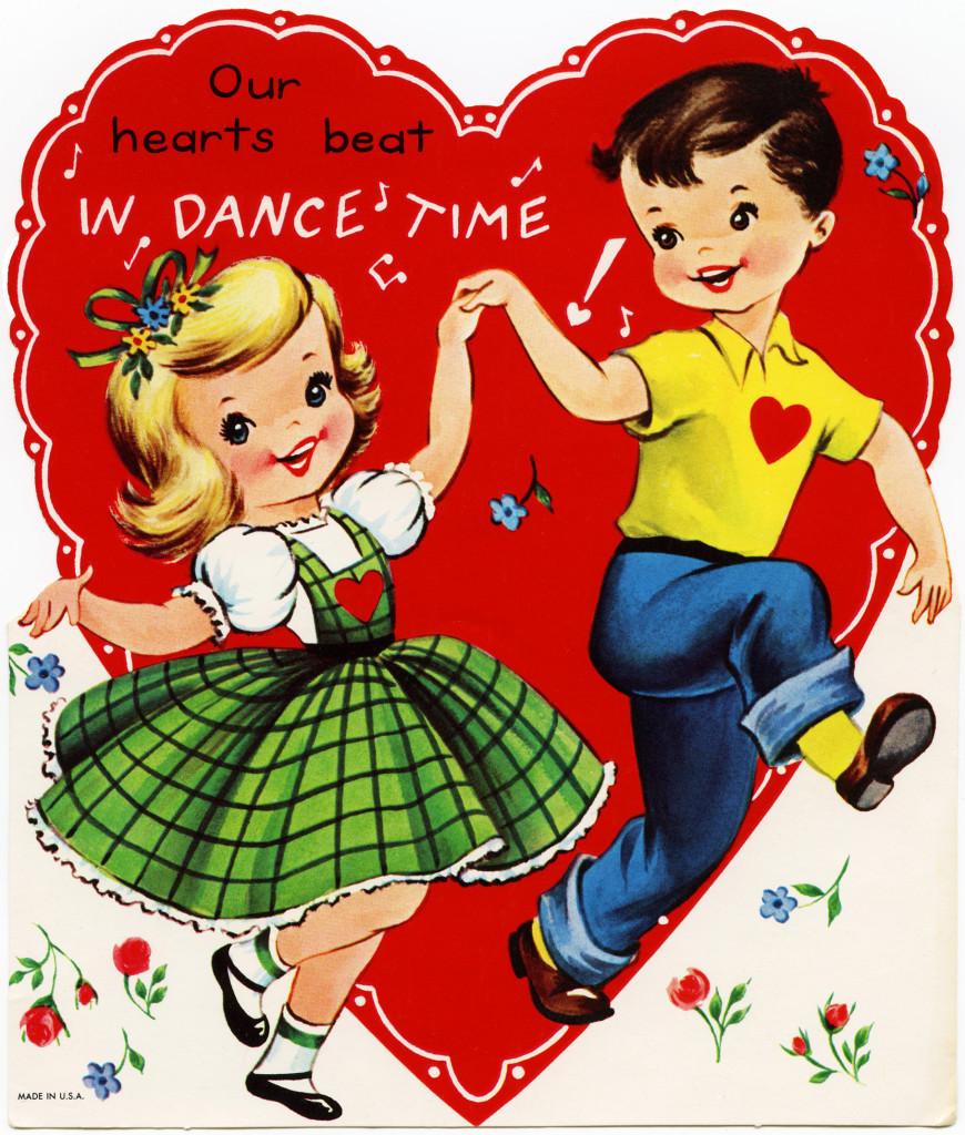 Dance Time Children's Valentine