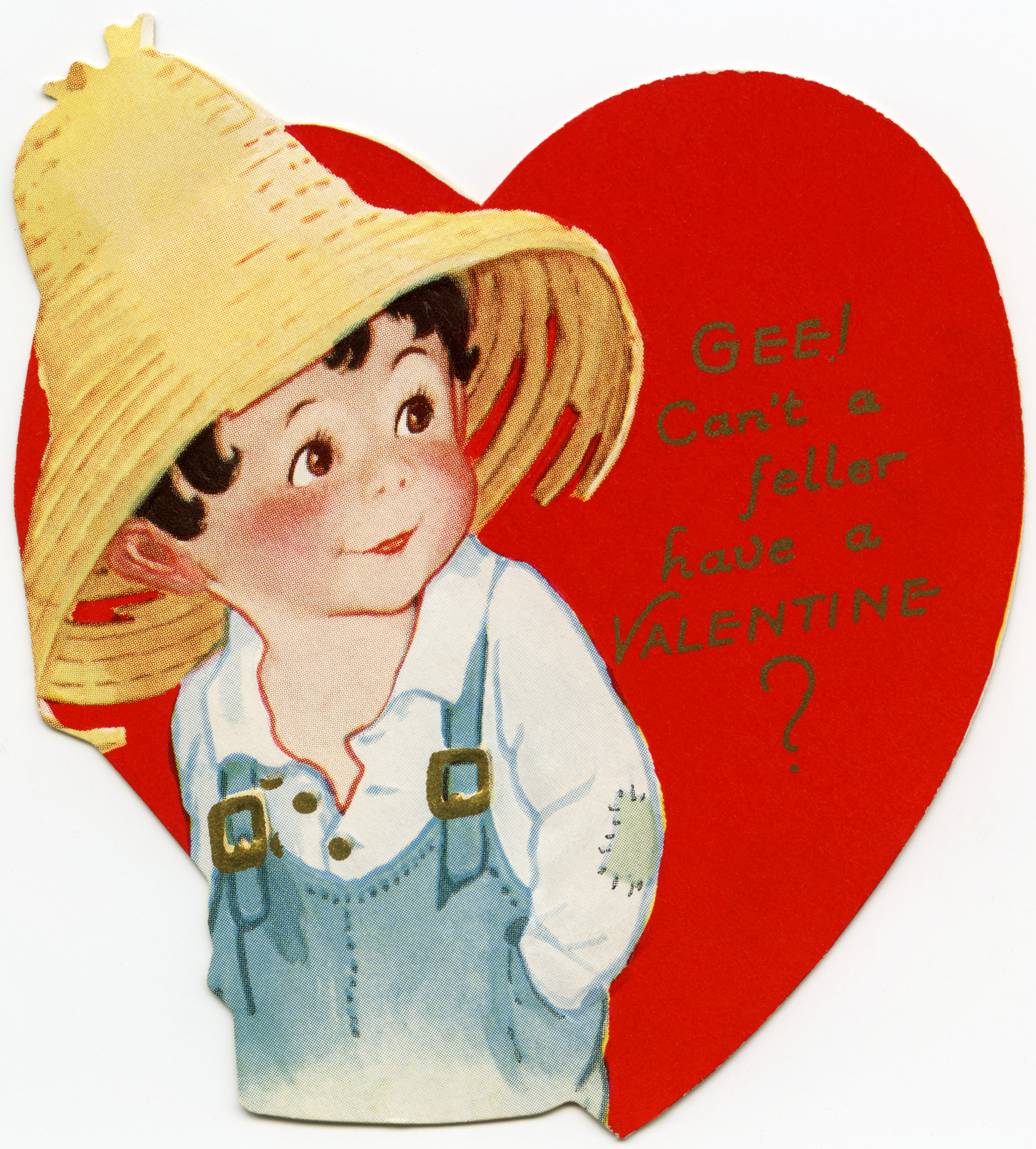 Free Vintage Image A Swell Valentine Card  Old Design Shop Blog