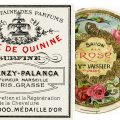 Free vintage clip art French perfume label