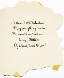 Free vintage clip art Valentine card greeting