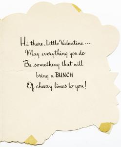 Free vintage clip art Valentine card greeting