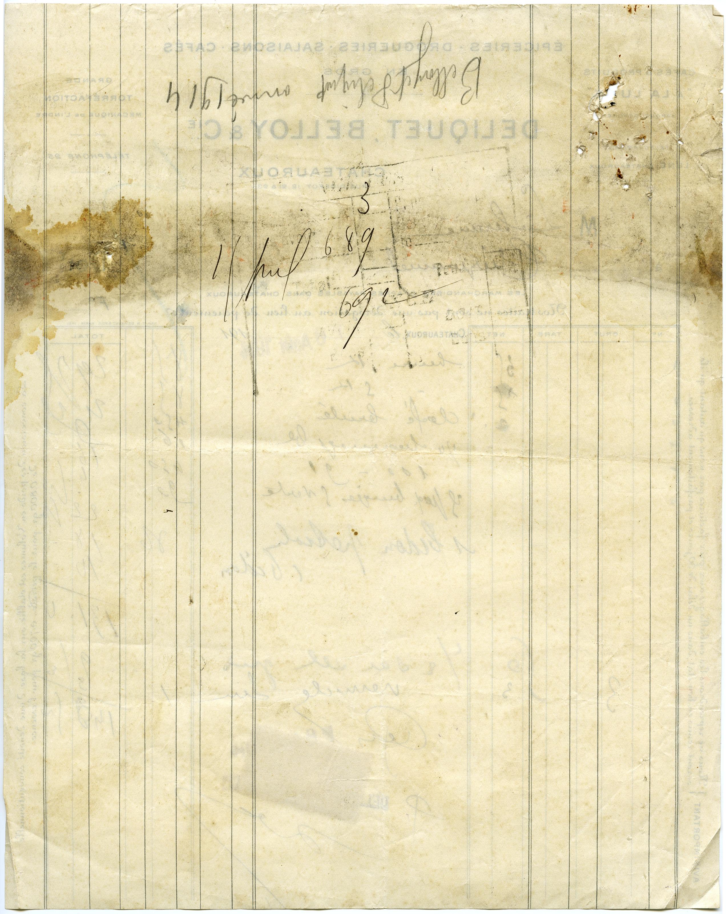 free vintage image, grunge page, aged ephemera, old paper, shabby and worn