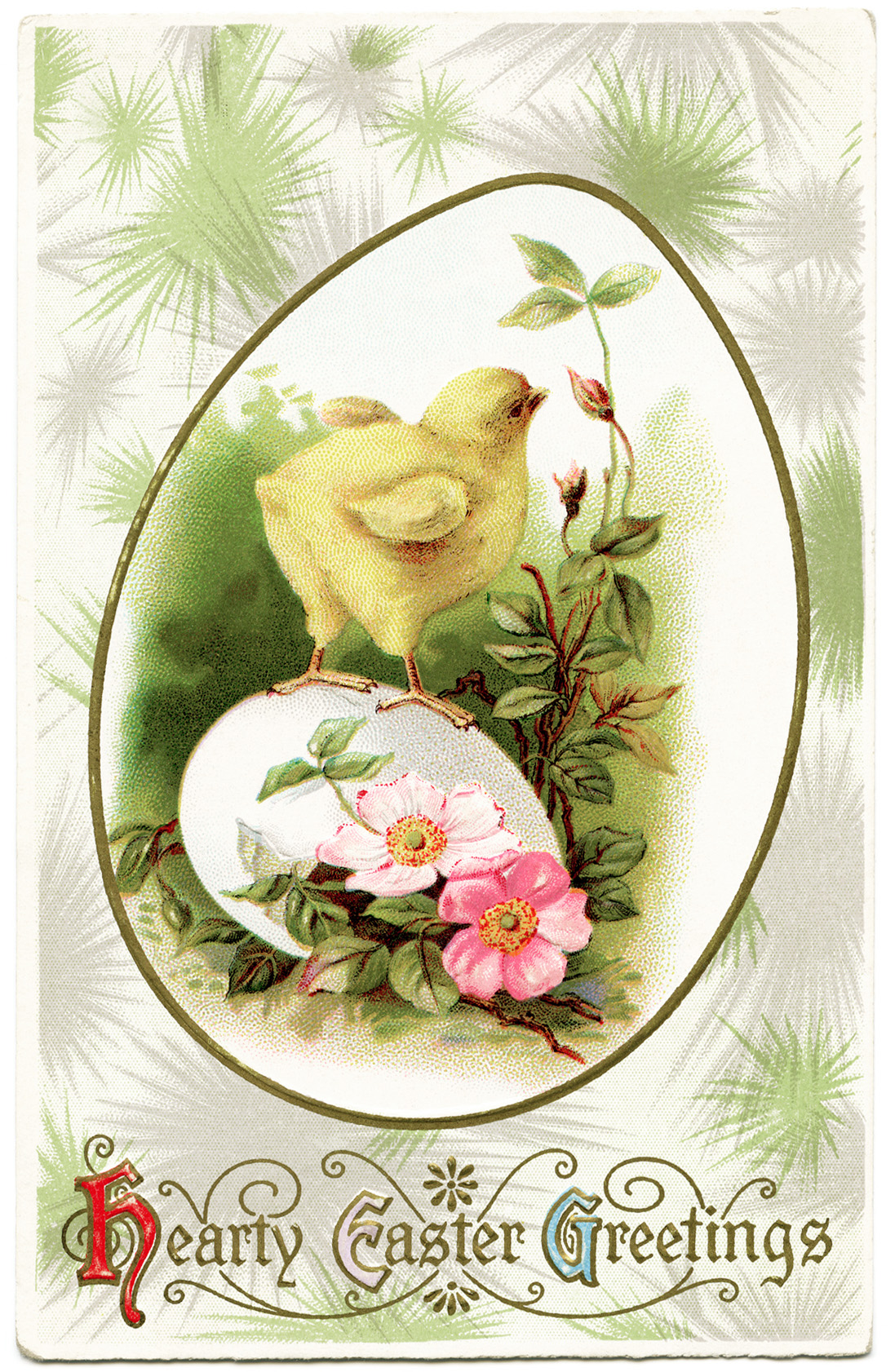 Free Vintage Clip Art Easter Chick Old Design Shop Blog