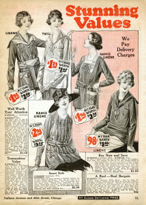 vintage catalogue page, antique digital graphics, 1920 fashion image, old fashioned clothing illustration, chicago mail order co
